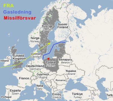 Proamerikanskt koncensus mot Ryssland centrerat runt Östersjöområdet