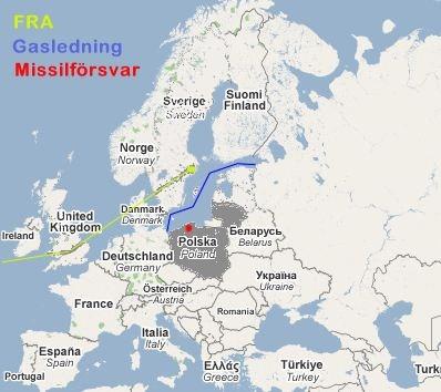 Litauen och Polen, fickor av proamerikanskt koncensus mot Ryssland